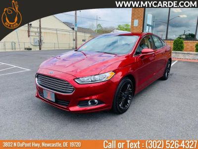 2016 Ford Fusion 4dr Sdn SE AWD (Ruby Red Metallic Tinted Clearcoat)