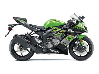 2018 Kawasaki NINJA ZX-6R KRT EDITION SuperSport Motorcycles O Fallon, IL