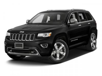 2016 Jeep Grand Cherokee Overland (True Blue Pearlcoat)