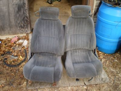 1997 2002 Pontiac Firebird Trans AM CAMARO BUCKET SEATS OEM GM NICE WITH TRACKS