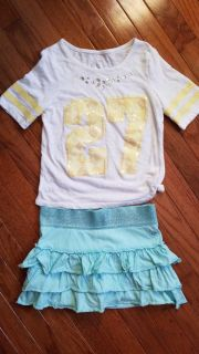Girls size 8 Justice outfit