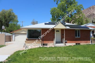 Beautifully Updated 3 Bed, 2 Bath Ogden Home