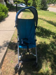Stroller with shade