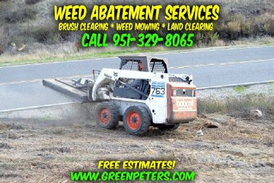 Weed Abatement & Brush Clearing Services - Temecula