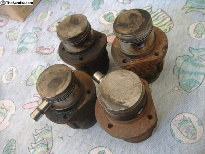 VW Bug piston and cylinder 85.5 bus ghia
