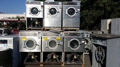 $450, Coin Operated Speed Queen Super 20II Front Load Washer