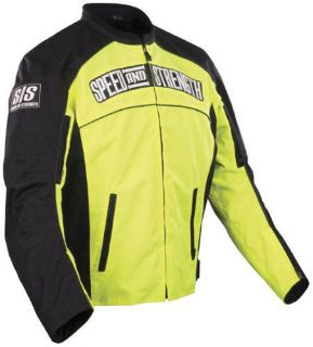 Buy SPEED AND STRENGTH SEVEN SINS TEXTILE JACKET YELLOW HYPER VIS MOTORCYCLE STREET motorcycle in Miami, Florida, United States, for US $130.00