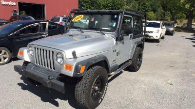 2006 Jeep Wrangler X (silver)