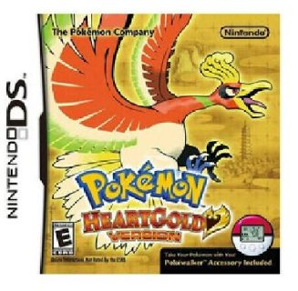Pokemon HeartGold Version WITH Pokewalker Nintendo DS NEW In Box Factory Sealed