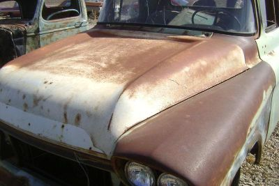 Find 1959 59 Chevy Pickup Truck HOOD SOLID 1958 58 motorcycle in Great Bend, Kansas, US, for US $250.00