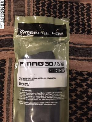 For Sale: Magpul Pmag AR/M4 30 rd