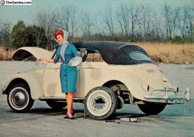 1950s Convertible - Willis Brothers LP