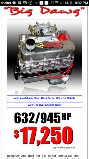 Shafiroff Big Dawg pump gas 632. Mtor Trans and coan convert