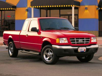 2003 Ford Ranger XLT (Black Clearcoat)