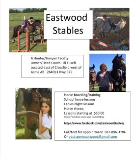 Riding Lessons at Eastwood Stables