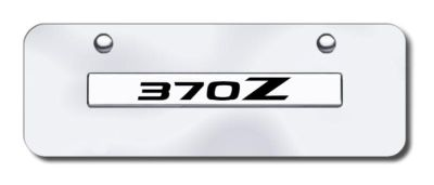 Sell Nissan 370Z Name Chrome on Chrome Mini-License Plate Made in USA Genuine motorcycle in San Tan Valley, Arizona, US, for US $29.87
