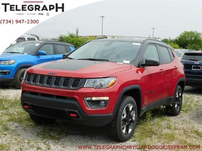2018 Jeep Compass trailhawk (Red Line)