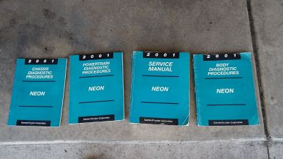 Dodge Neon OEM Shop Service/Repair/Maintenance Manuals
