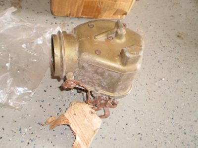CARB Teapot Ford Carburetor Mercury Lincoln FORD FLATHEAD 2-barrel 1949-51 NOS