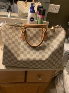 Louis Vuitton Damier Asur Speedy 35