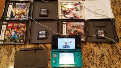 Nintendo 3DS - used w games!