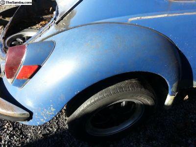1971 Right rear fender