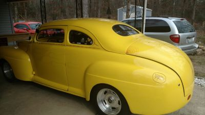 chopped 1948 ford street rod