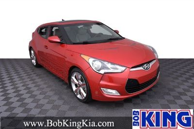 2013 Hyundai Veloster Base (Boston Red)