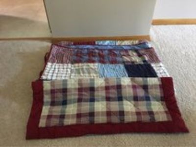 Twin Quilt and Pillow Sham