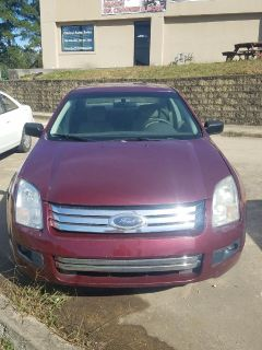 2007 Ford Fusion I-4 SE (Red)