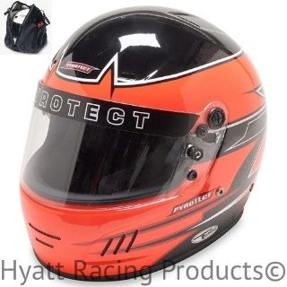 Buy Pyrotect Pro Airflow Auto Racing Helmet SA2015 - Orange Rebel Graphic motorcycle in Bend, Oregon, United States, for US $479.00