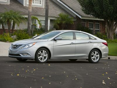 2011 Hyundai Sonata SE 2.0T (Harbor Gray Metallic)