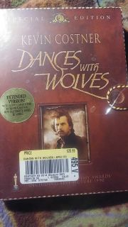 NEW - DANCES WITH WOLVES - SPECIAL EDITION- SEALED NEW