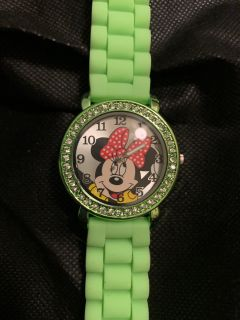 Brand new never worn Minnie Mouse watch