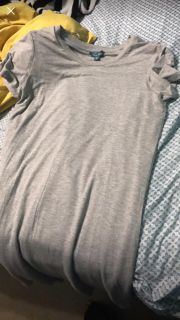 Large Tshirt Dress-with pockets