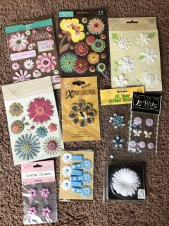 Scrapbooking lot 3 $10 for all