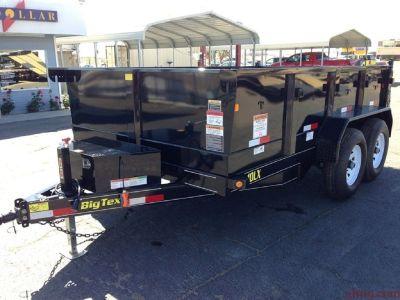7x12 Dump Trailers, Big Tex Dump Trailer 10LX-12 GVWR 9,990 lbs