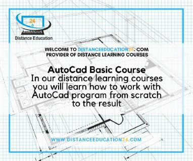 AutoCad  Distance Training  Courses Tutorials