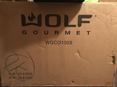 New Wolf Countertop Oven