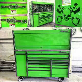 Snap On Epiq 76 Rollcab with Matching Hutch