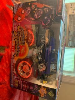 Brand new awesome gift car dances plays music stunt truck 360tirns 90 degree flips in the air