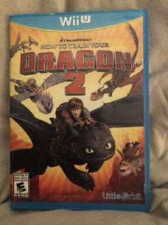 Wii U How to Train Your Dragon 2 $10