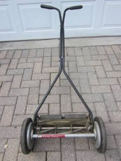 "GREAT STATES Reel Push Lawn Mower 16"" Blade USA ~ EXCELLENT"