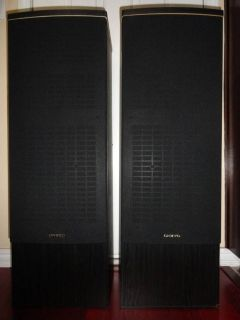 ONKYO FUSION AV SK-40 3 WAY TOWER SPEAKERS MADE IN USA