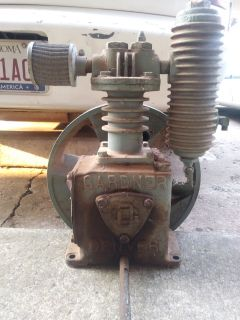 2.5 Gardner Davis air compressor pump