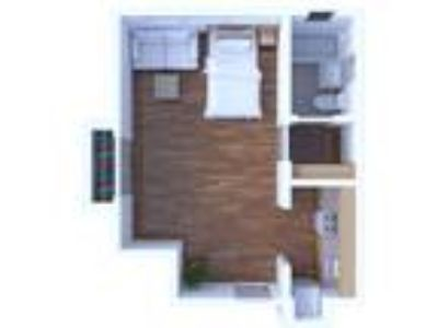 Campus Court Apartments - Studio Floor Plan S2