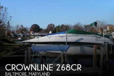 1999 Crownline 268CR