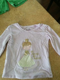 Children's Place shirt size 5. Free with purchase.