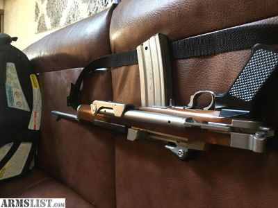 For Sale: Rare Ruger Mini 14 stainless factory folder