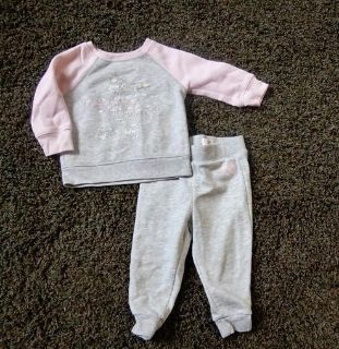Childrens Place 12- 18 Month Sweatshirt and Pants